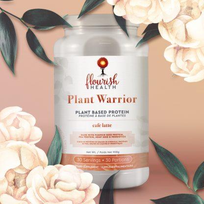 Flourish Health | Plant Warrior Protein (Cafe Latte)