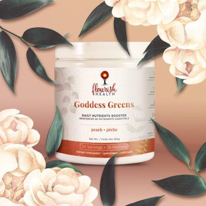 Flourish Health | Goddess Greens (Peach)